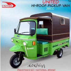 United 200CC on installment